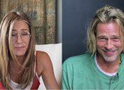 Jennifer Aniston and Brad Pitt at Fast Times Table Read