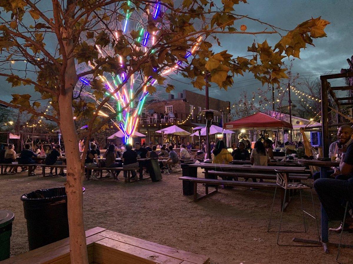 Axelrad, best outdoor bar in Texas