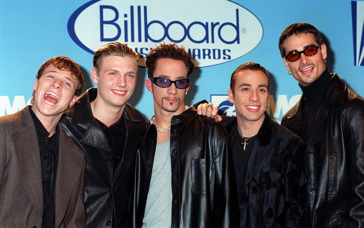 Backstreet Boys at the Billboard Music Awards in 1997