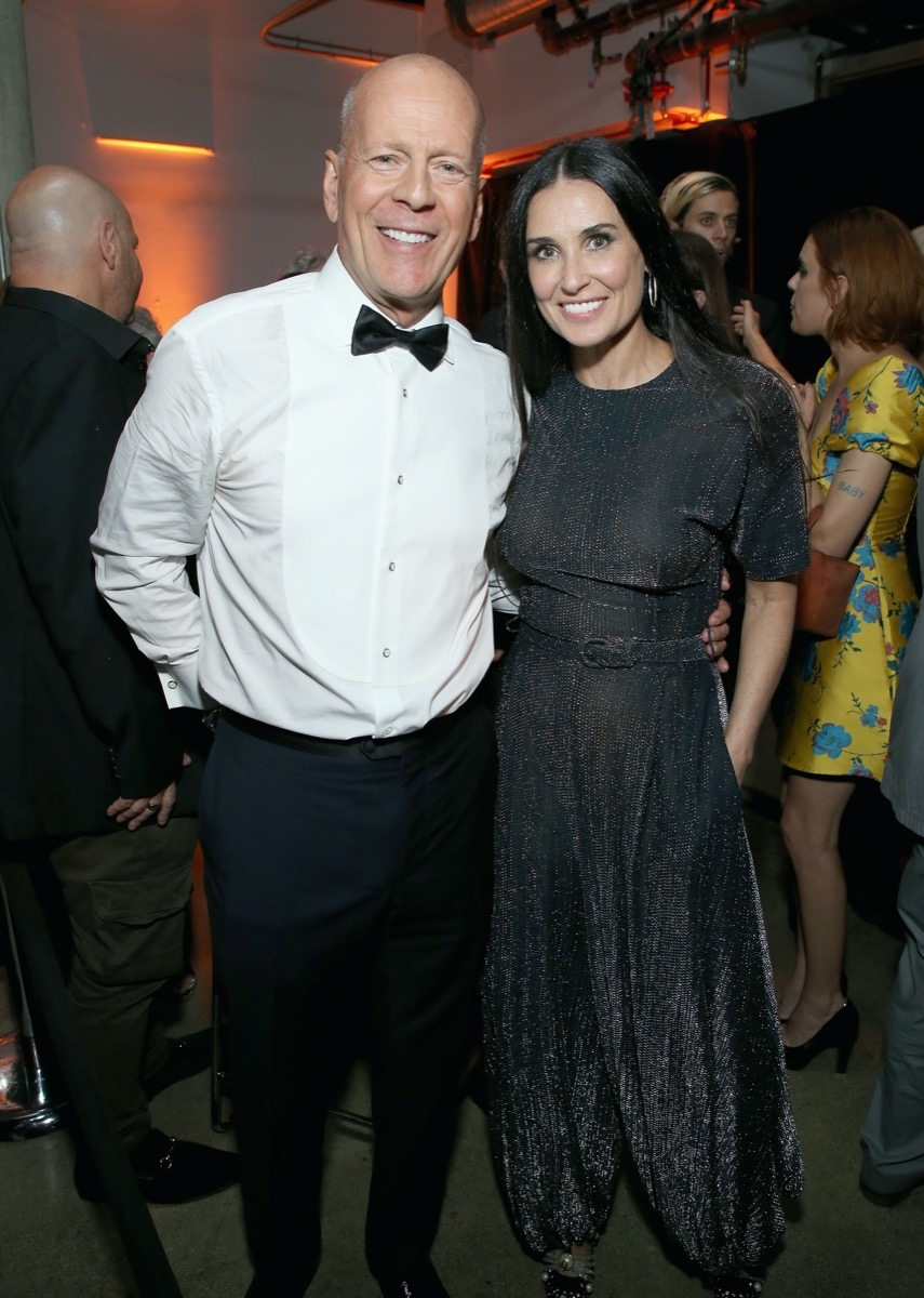 Bruce Willis and Demi Moore in 2018