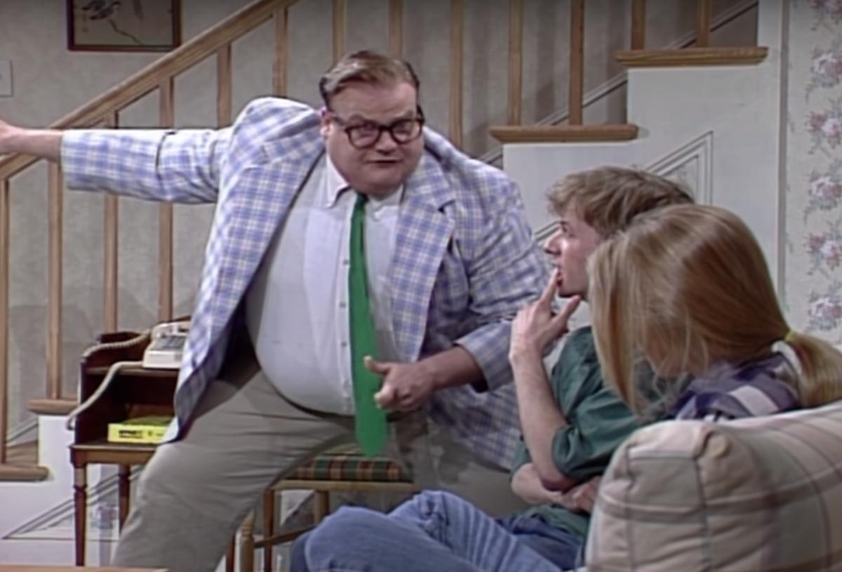 "Chris Farley on ""Saturday Night Live"""