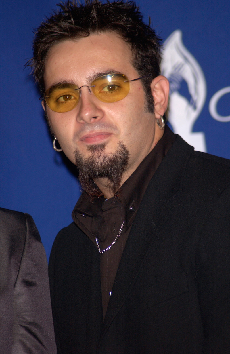 Chris Kirkpatrick at the People's Choice Awards in 2002