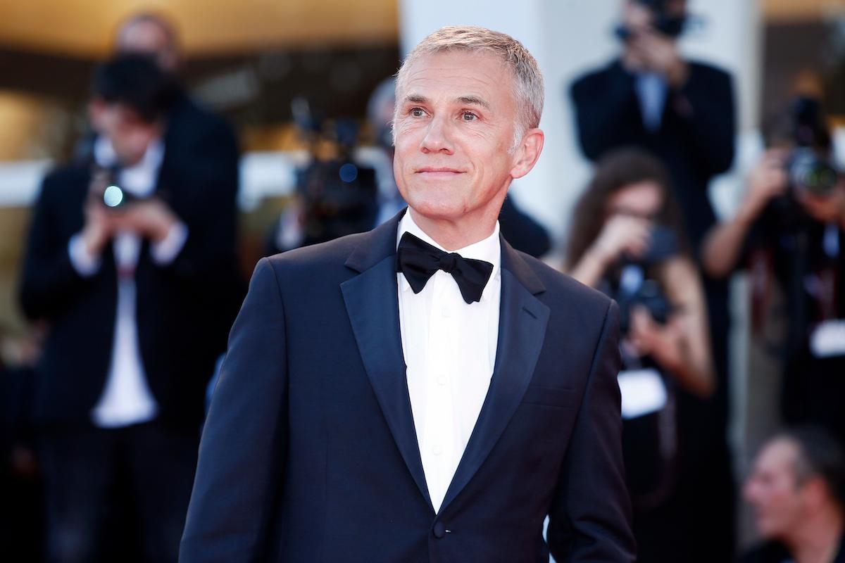 Christoph Waltz at the 2018 Venice Film Festival
