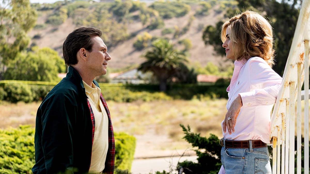 Christian Slater and Amanda Peet in Dirty John: The Betty Broderick Story