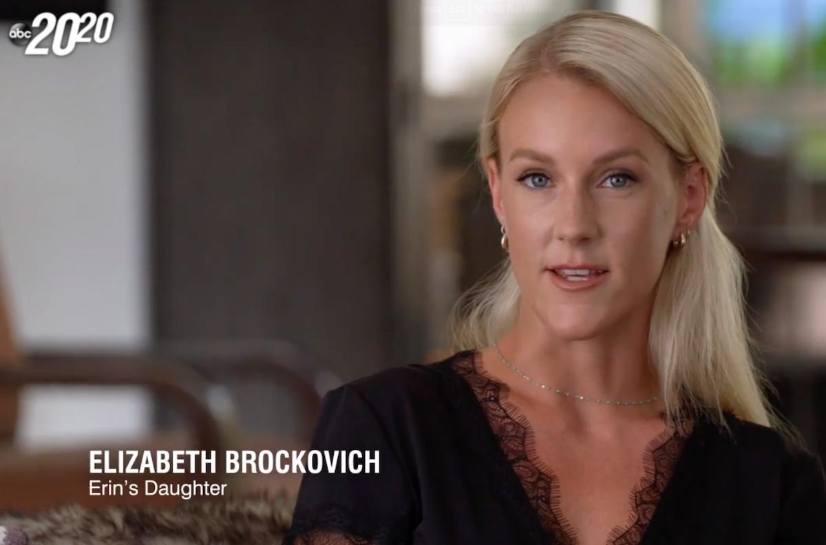 """Elizabeth Brocovich on the """"20/20"""" special"""