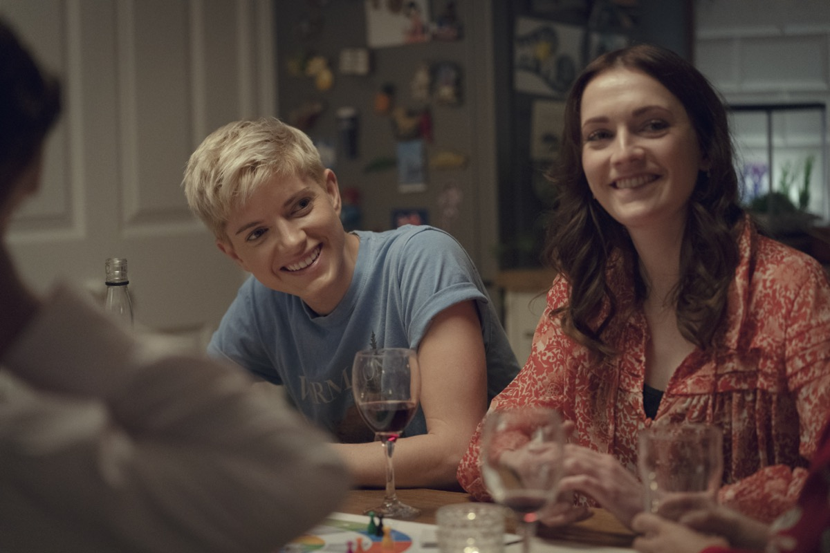 Mae Martin and Charlotte Ritchie in Feel Good
