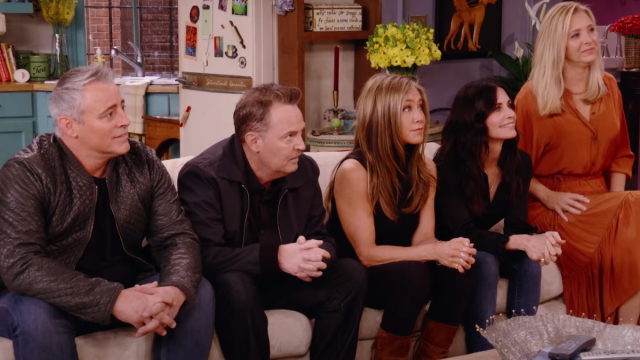 """Matt LeBlanc, Matthew Perry, Jennifer Aniston, Courtney Cox, and Lisa Kudrow on the """"Friends"""" reunion"""