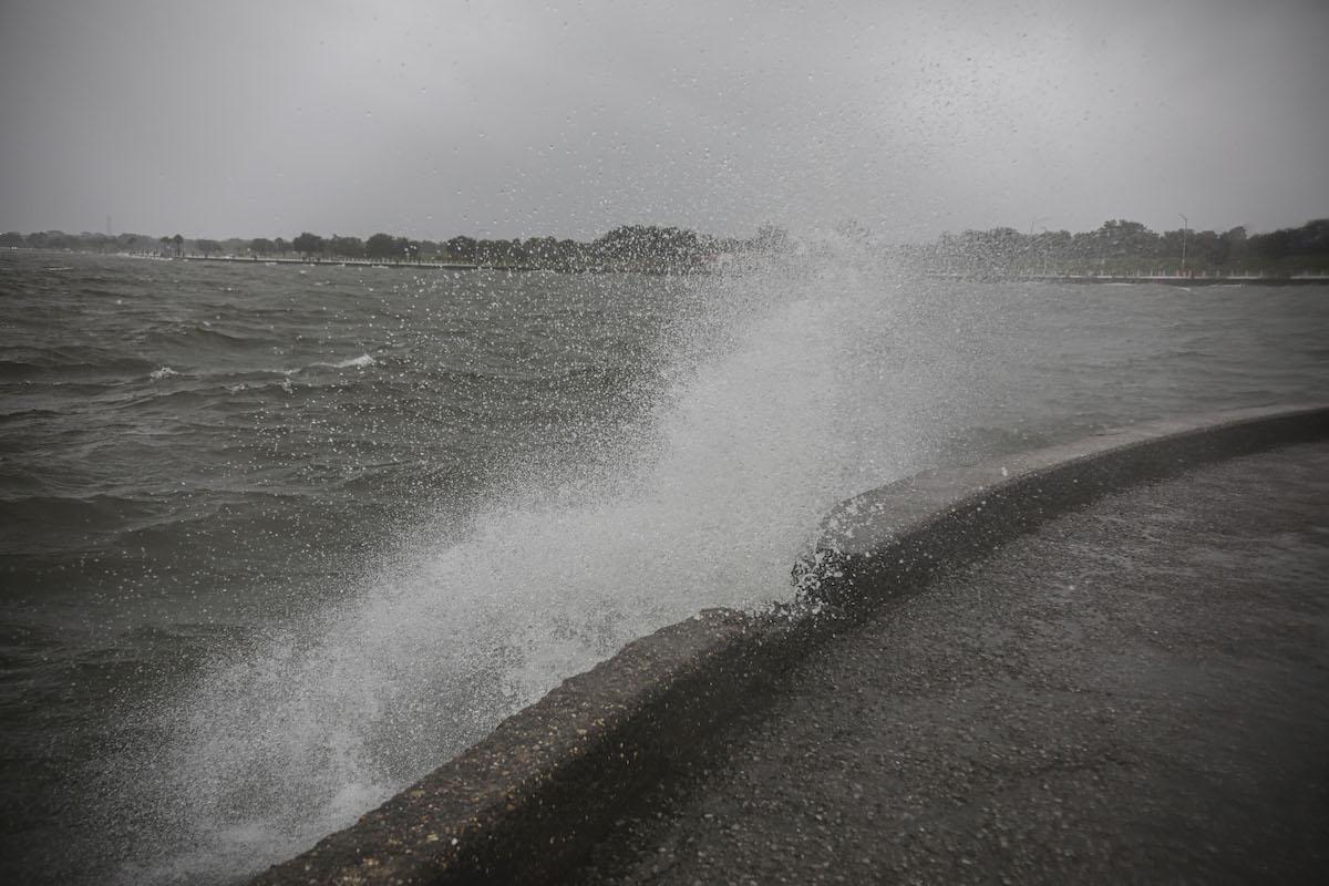 Hurricane weather Louisiana