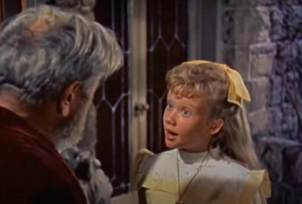"""Hayley Mills in """"Pollyanna"""""""