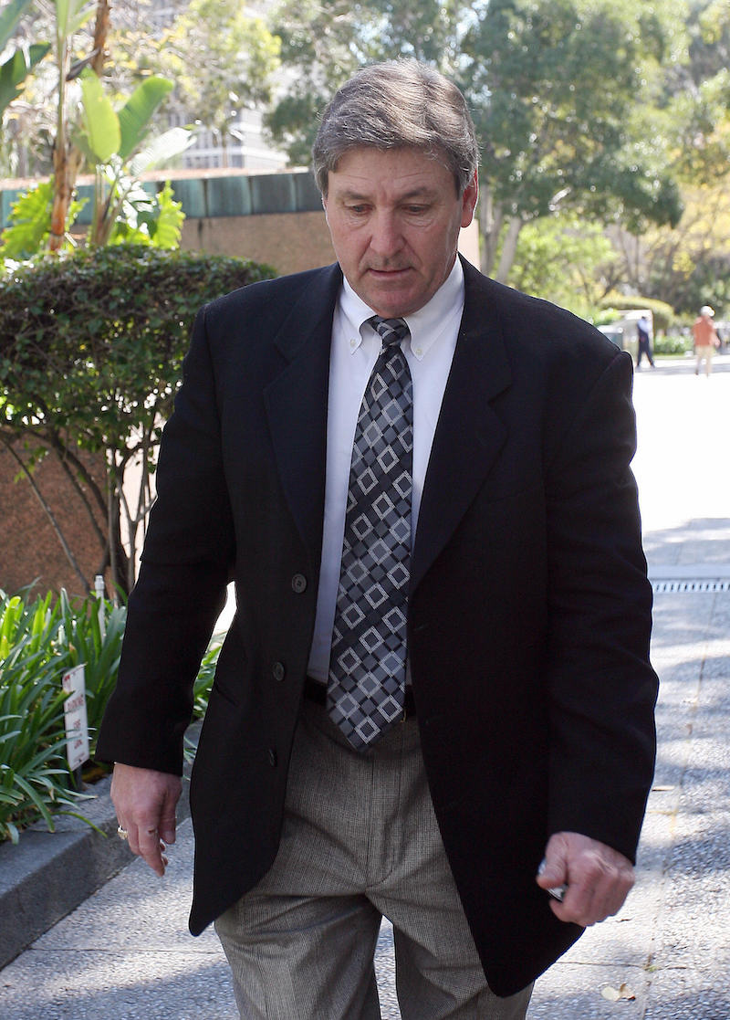 Jamie Spears leaving the Los Angeles County Superior Courthouse in 2008