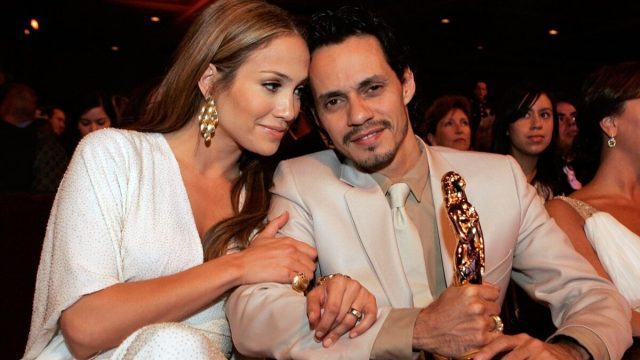 Jennifer Lopez and Marc Anthony in 2006
