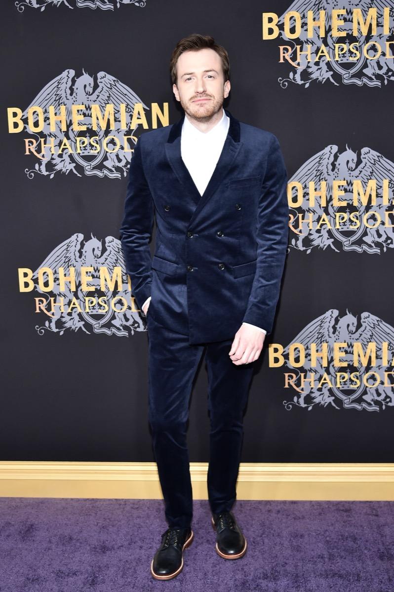 Joseph Mazzello Bohemian Rhapsody premier
