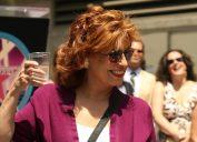 Joy Behar at Barbara Walters' Hollywood Walk of Fame ceremony in 2007