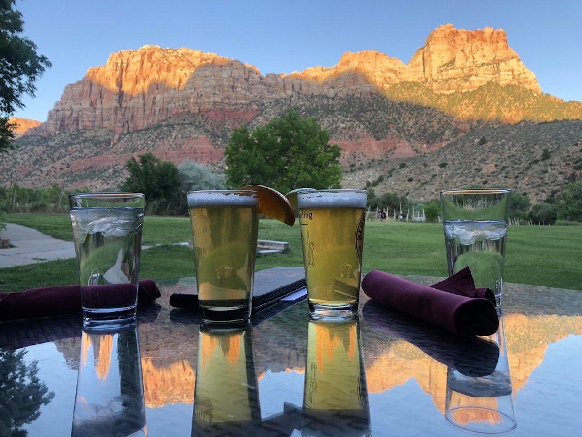 King's Landing Bistro, best outdoor bar in Utah