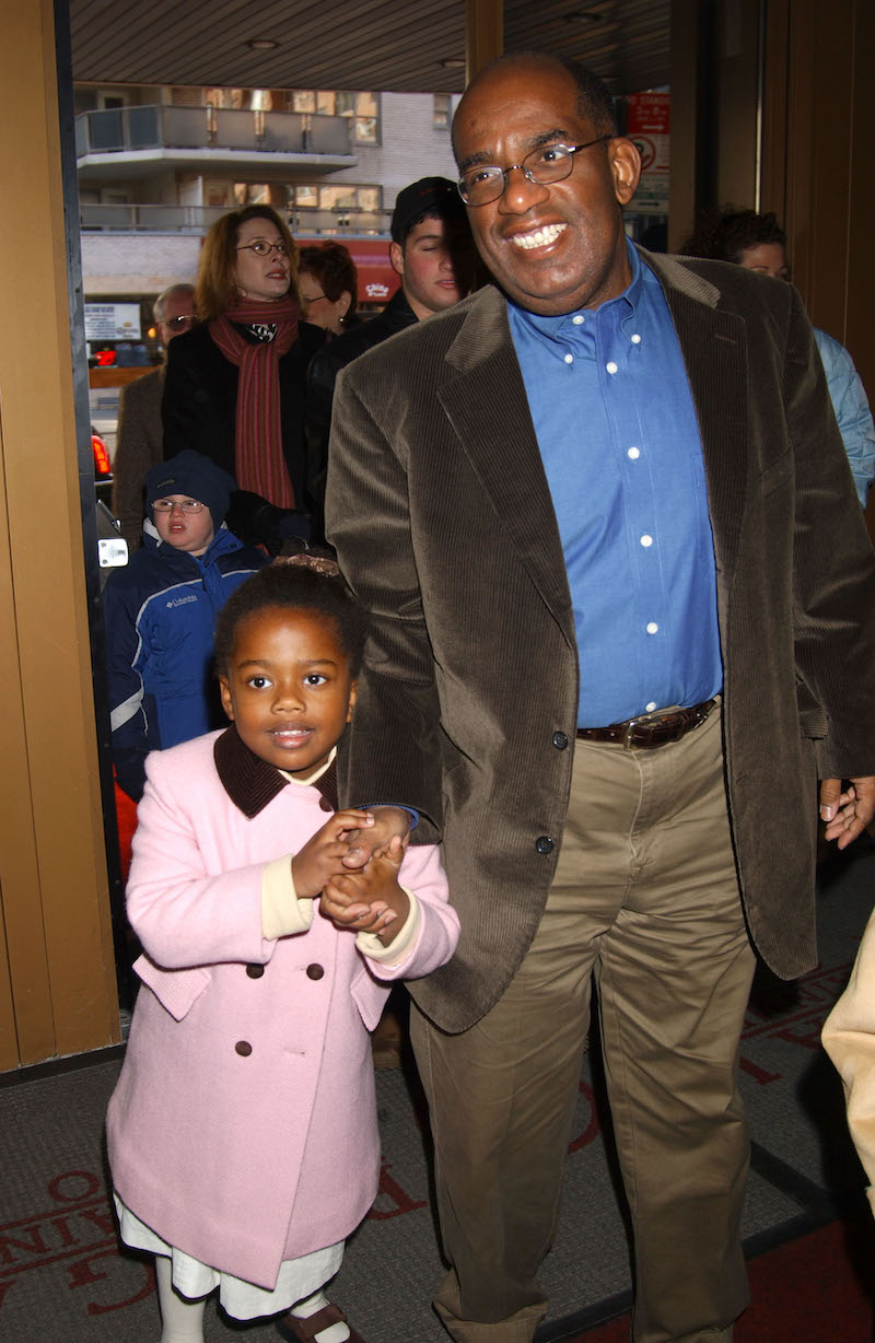 """Leila and Al Roker at the premiere of """"The Cat in the Hat"""" in 2003"""