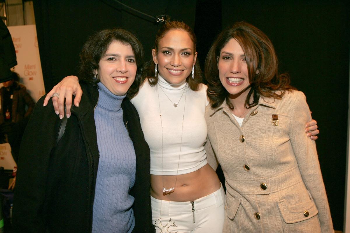 Leslie, Jennifer, and Lynda Lopez in 2005
