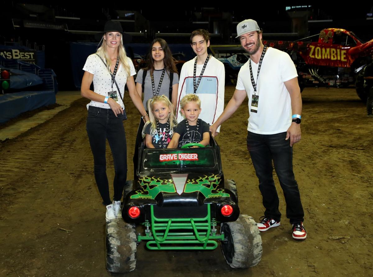Mark-Paul Gosselaar and kids