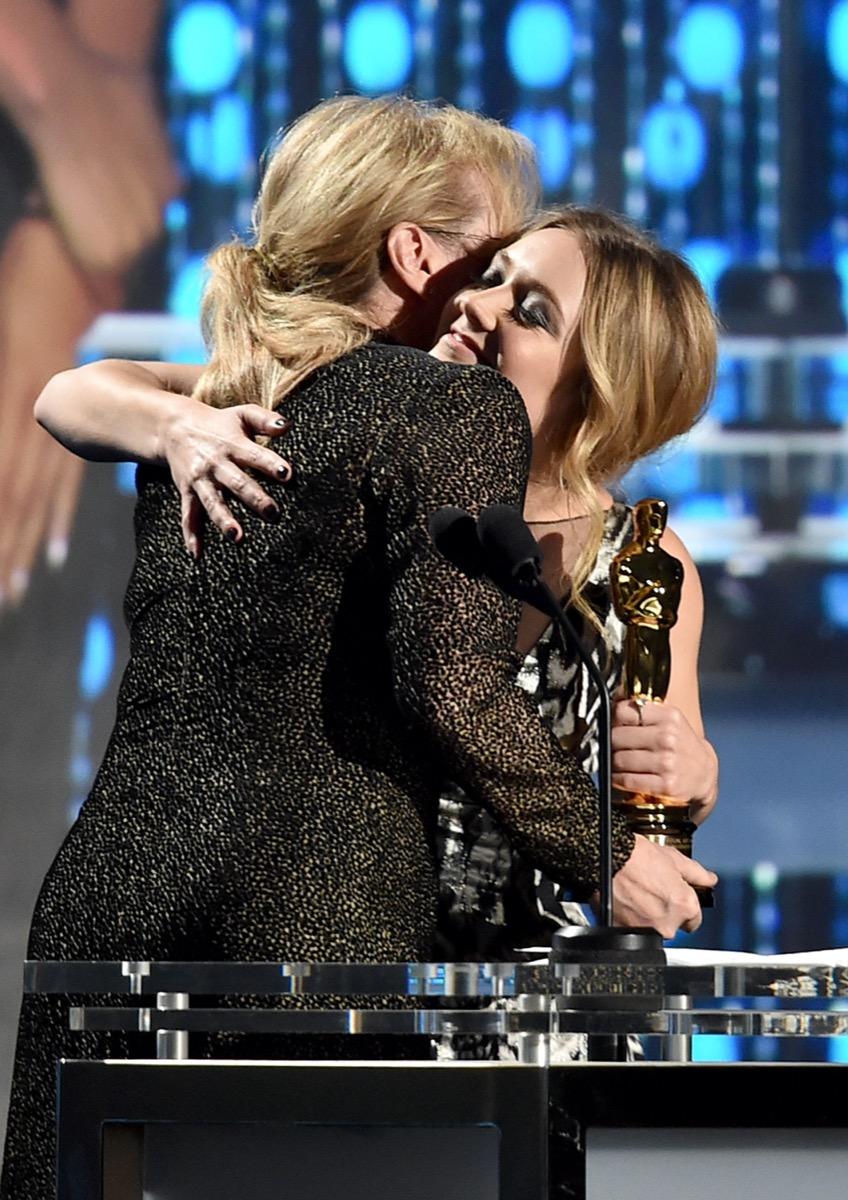 Meryl Streep and Billie Lourd