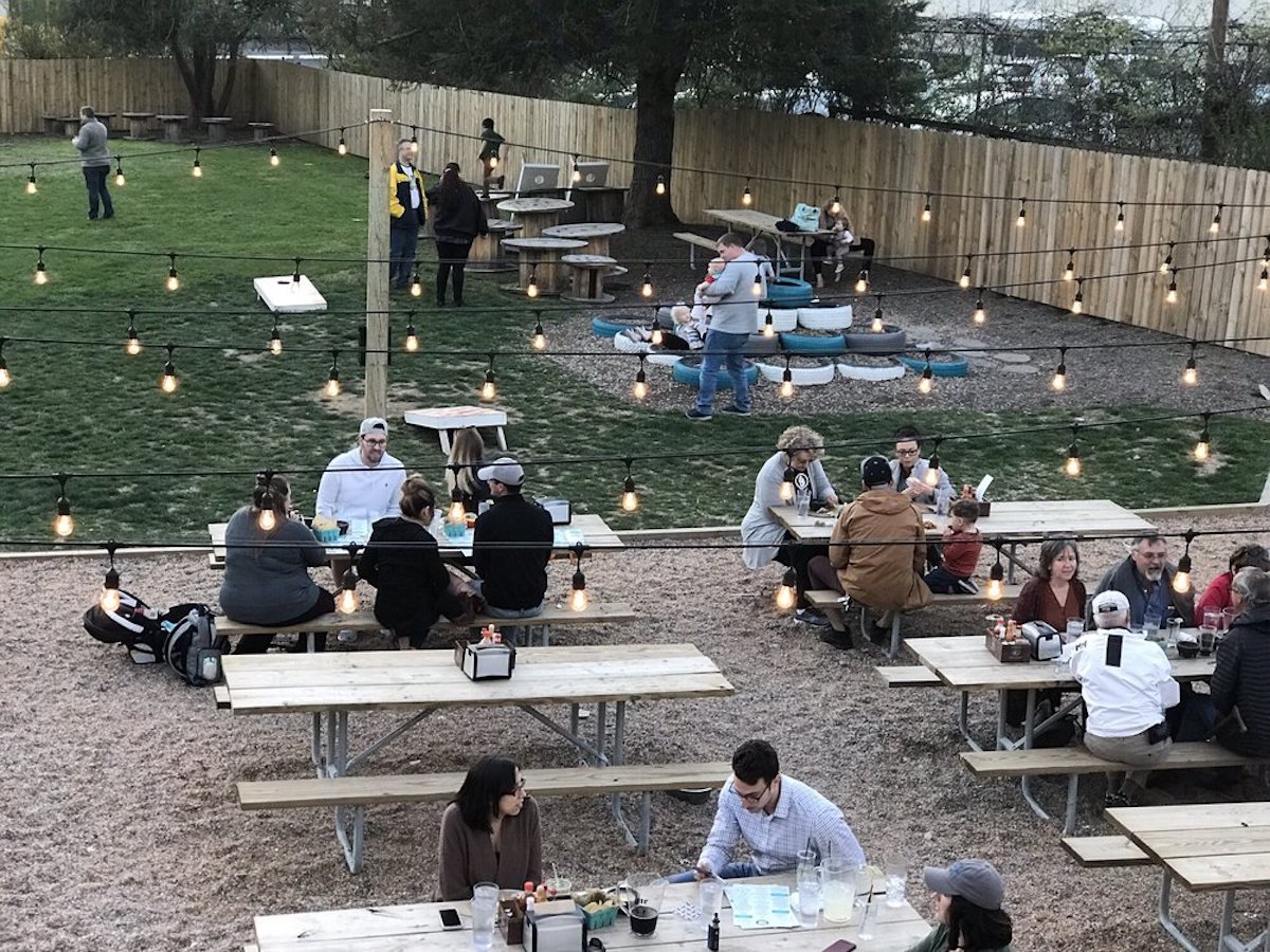 Nectar Urban Cantina, the best outdoor bar in Tennessee