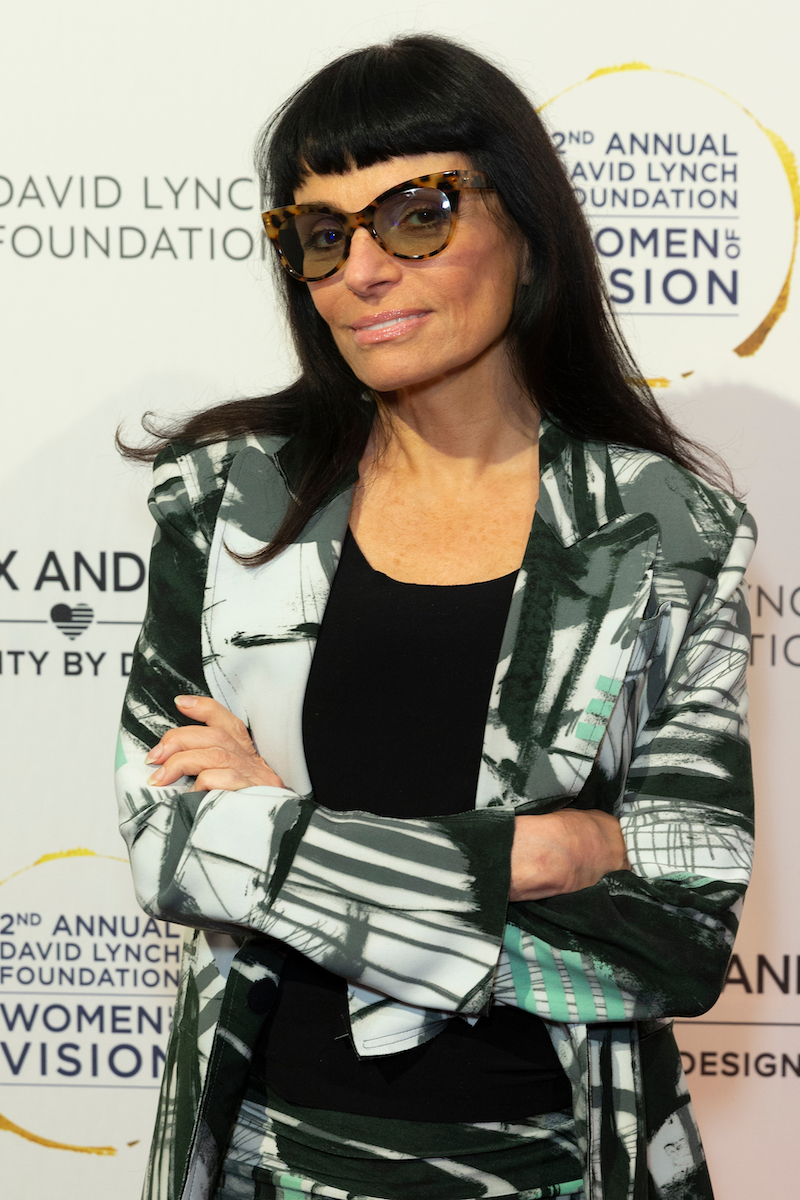 Norma Kamali at the David Lynch Foundation Women of Vision Benefit Luncheon in New York City in 2018