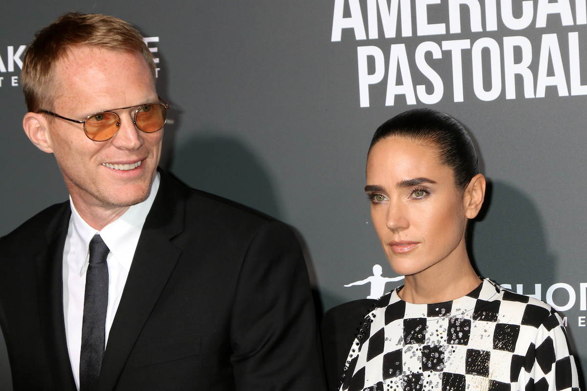 """Paul Bettany and Jennifer Connelly at a screening of """"American Pastoral"""" in 2016"""