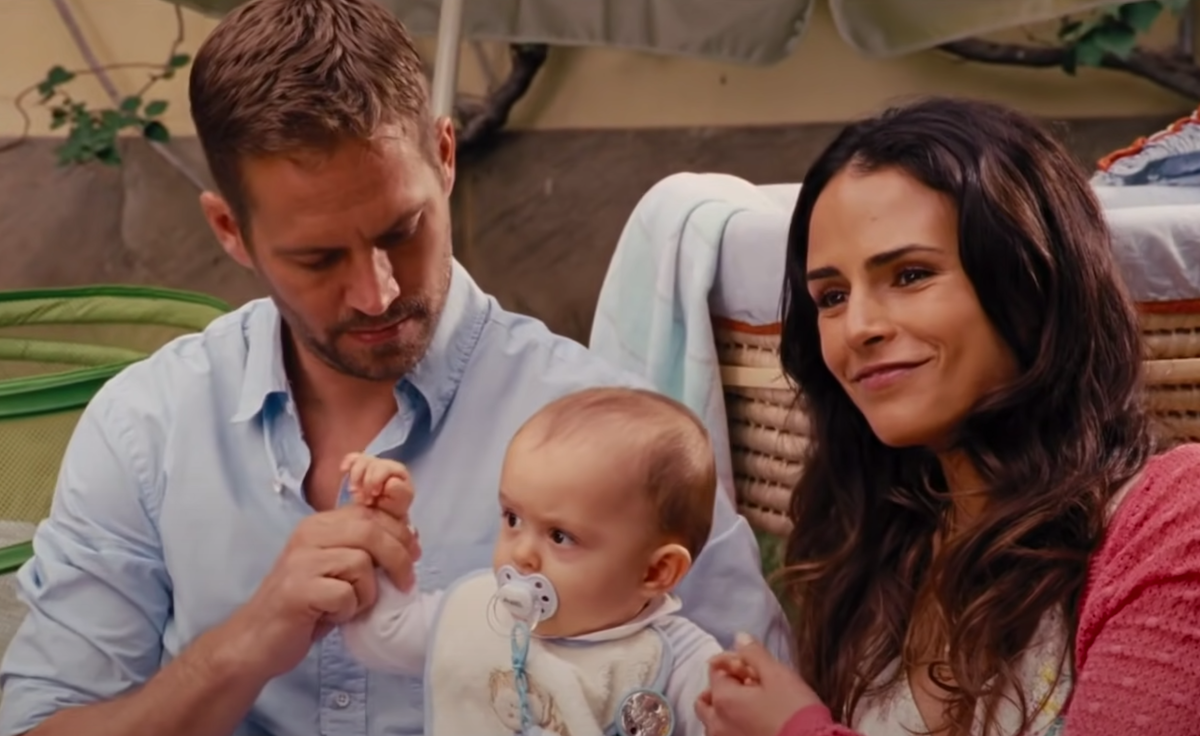 "Paul Walker and Jordana Brewster in ""Fast & Furious 6"""