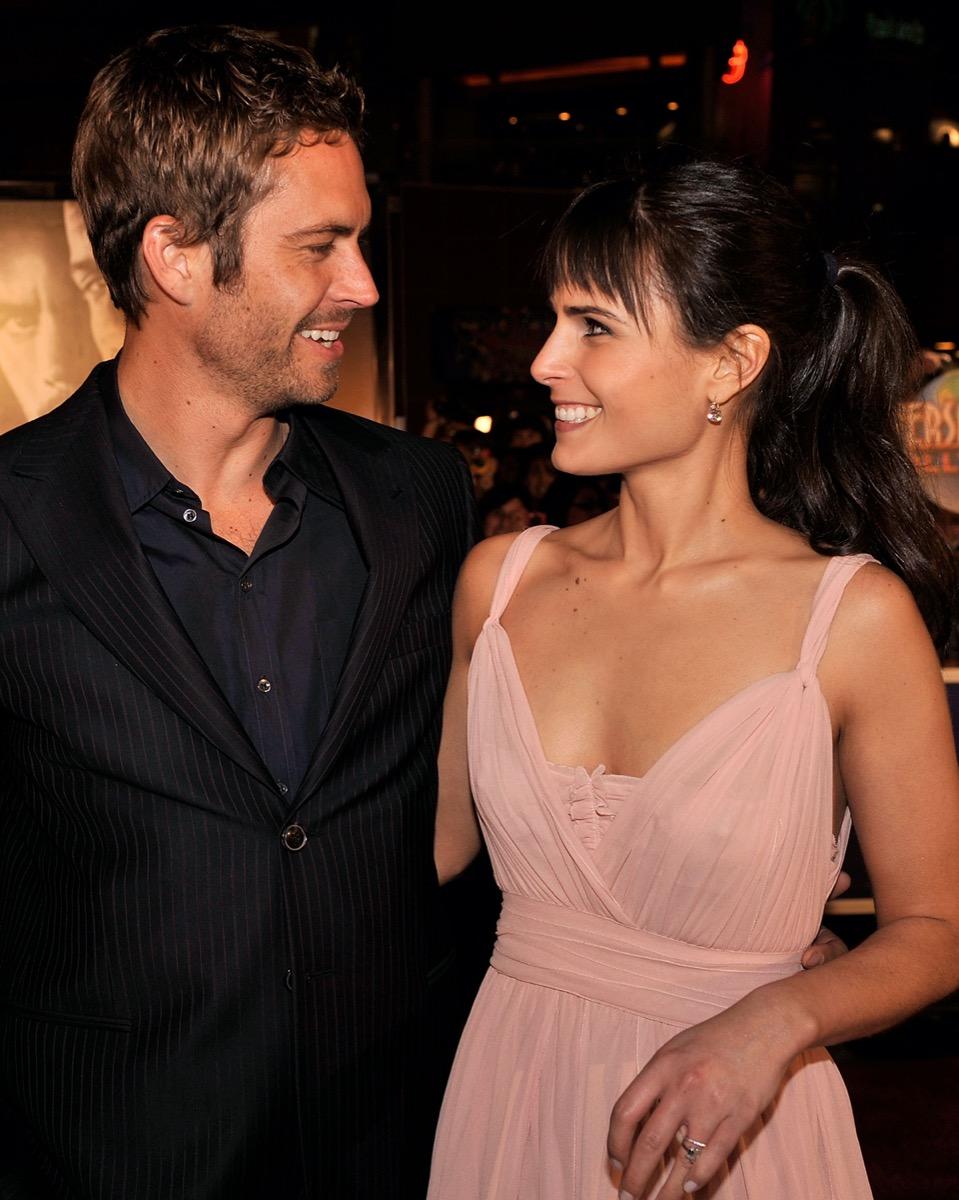 Paul Walker and Jordana Brewster in 2009