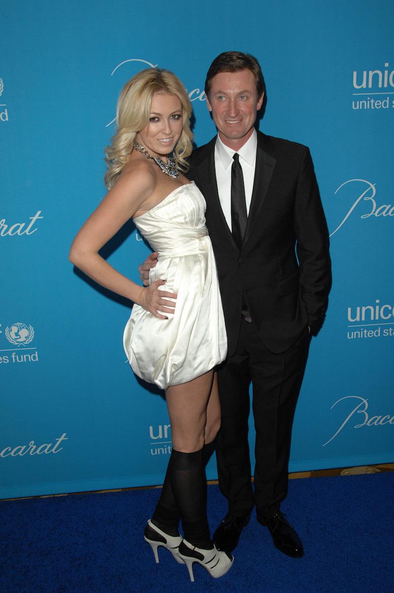 Paulina and Wayne Gretzky at the 2009 UNICEF Ball