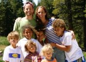 Kirk Cameron family young