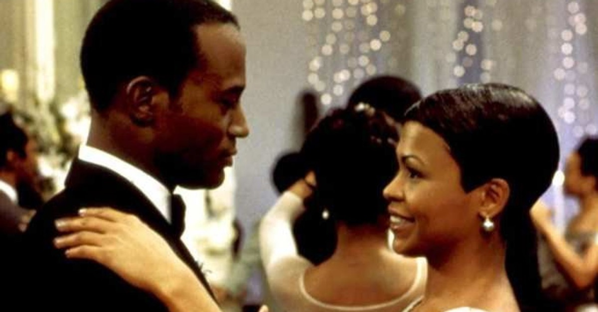 Taye Diggs and Nia Long in The Best Man