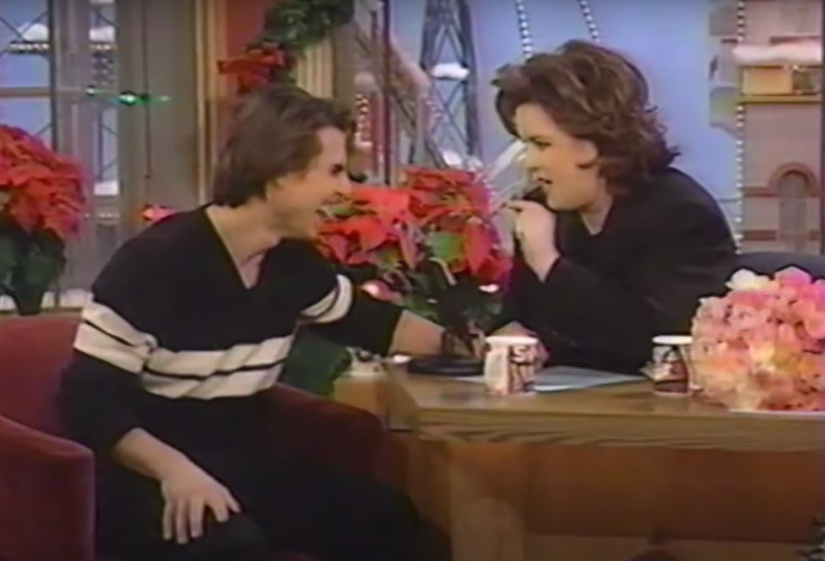 """Tom Cruise on """"The Rosie O'Donnell Show"""" in 1996"""