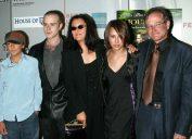 Cody, Zak, Zelda, Marsha Garces, and Robin Williams at the 2004 Tribeca Film Festival