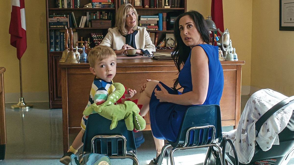Catherine Reitman in Workin' Moms