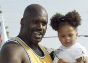 Amirah O'Neal and Shaquille O'Neal 2003
