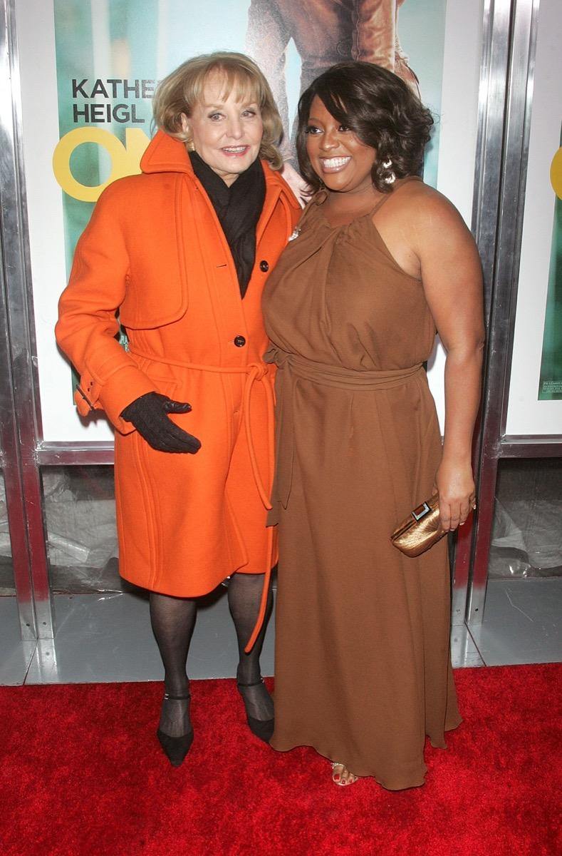 Barbara Walters and Sherri Shepherd 2012