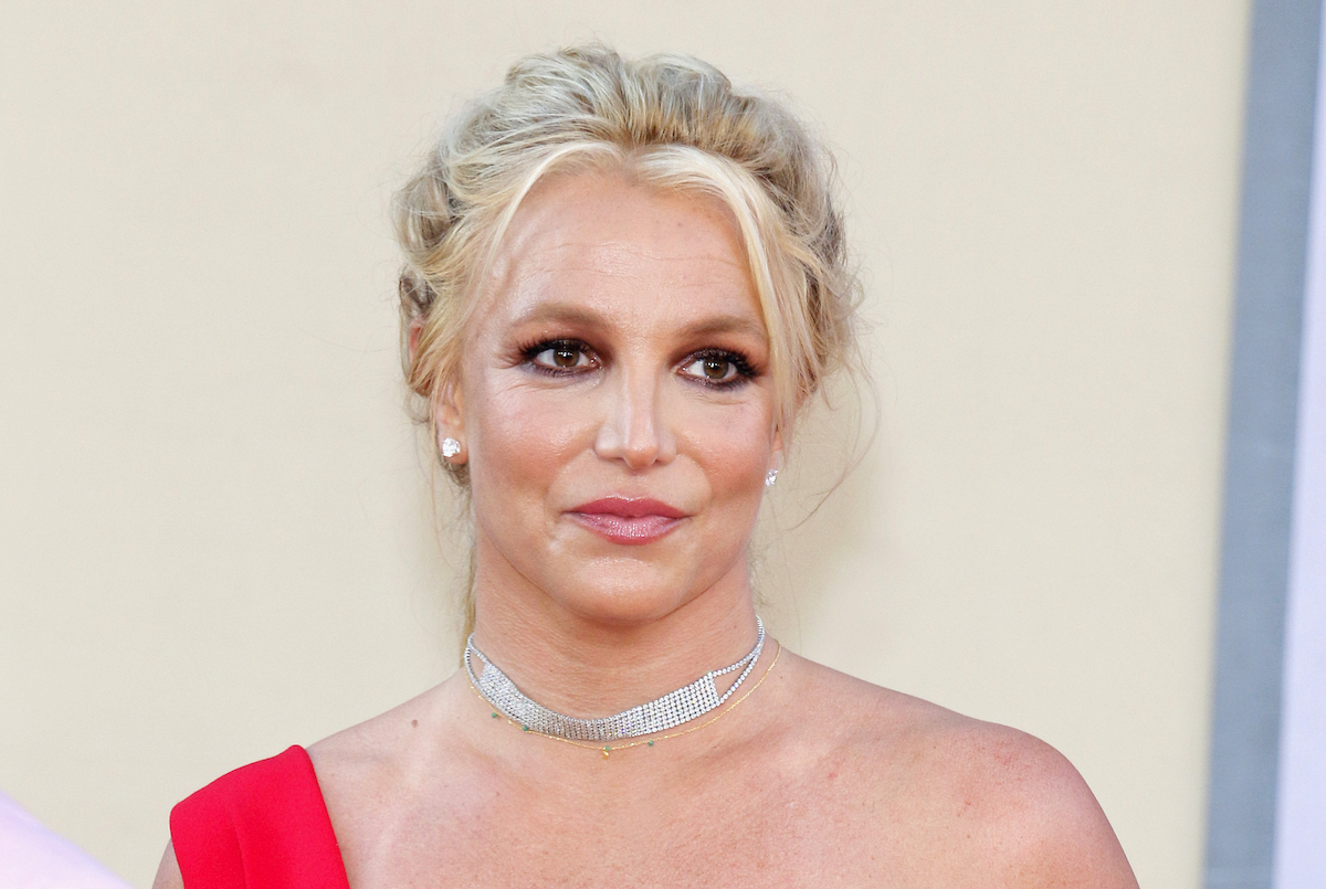 Britney Spears at the Los Angeles premiere of 'Once Upon a Time In Hollywood' held at the TCL Chinese Theatre IMAX in Hollywood, USA on July 22, 2019.
