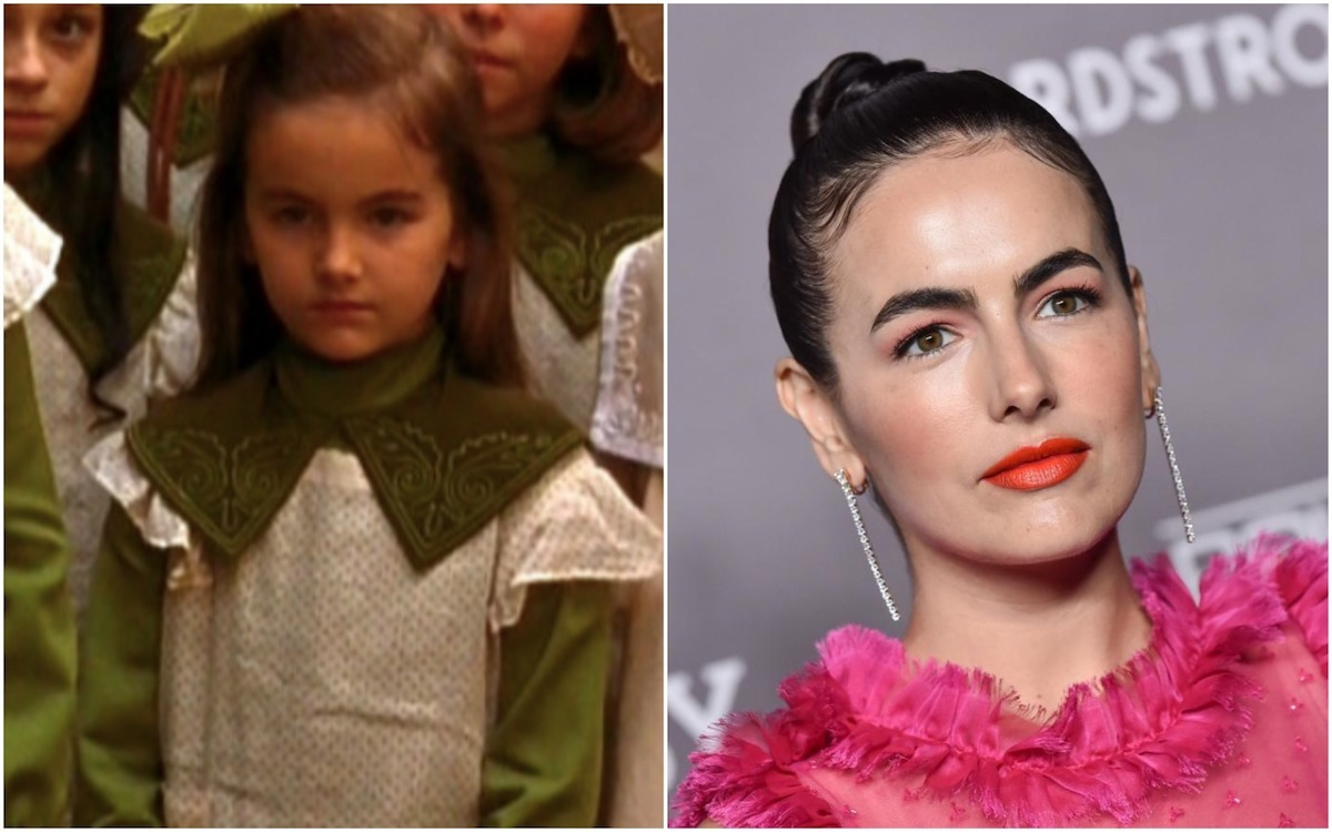 Camilla Belle, star of A Little Princess, then and now