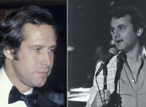Chevy Chase and Bill Murray in the 1970s