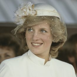 Diana, Princess of Wales (1961 - 1997) at a welcome ceremony in Tauranga, New Zealand, 31st March 1983.