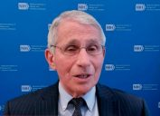 Dr. Anthony Fauci appearing on NBC Nightly News on June 2, 2021