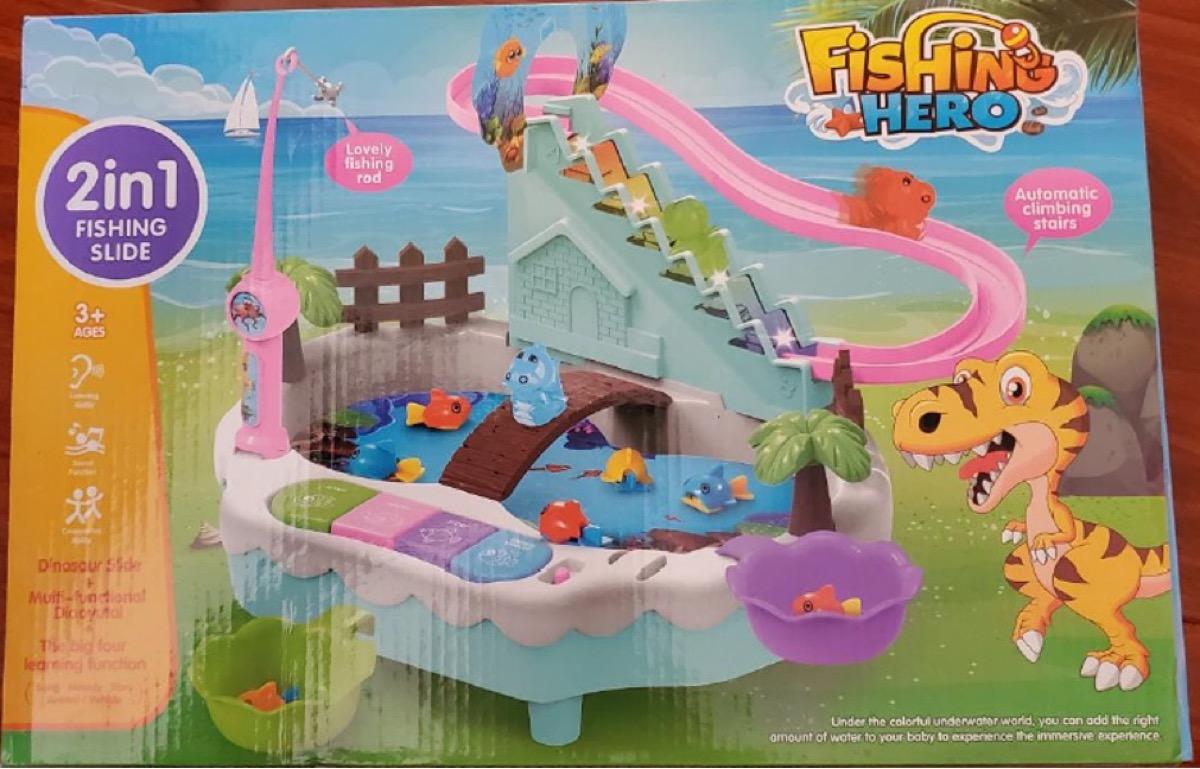 recalled fishing game