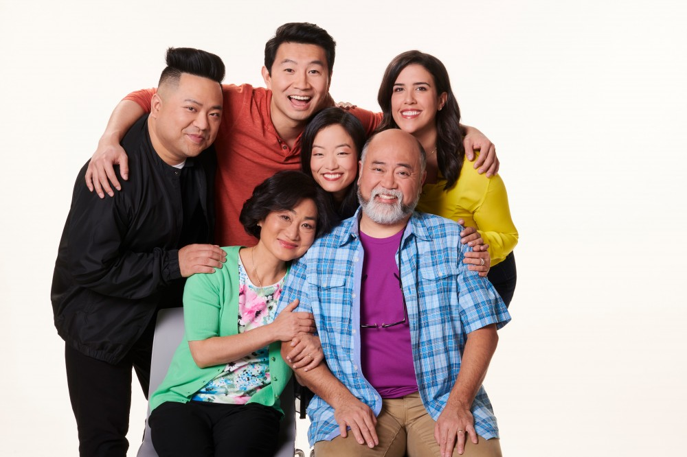 The cast of the sitcom Kim's Convenience
