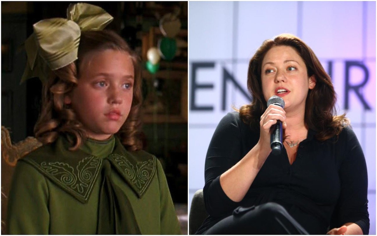 Lisel Simmons, star of A Little Princess, then and now