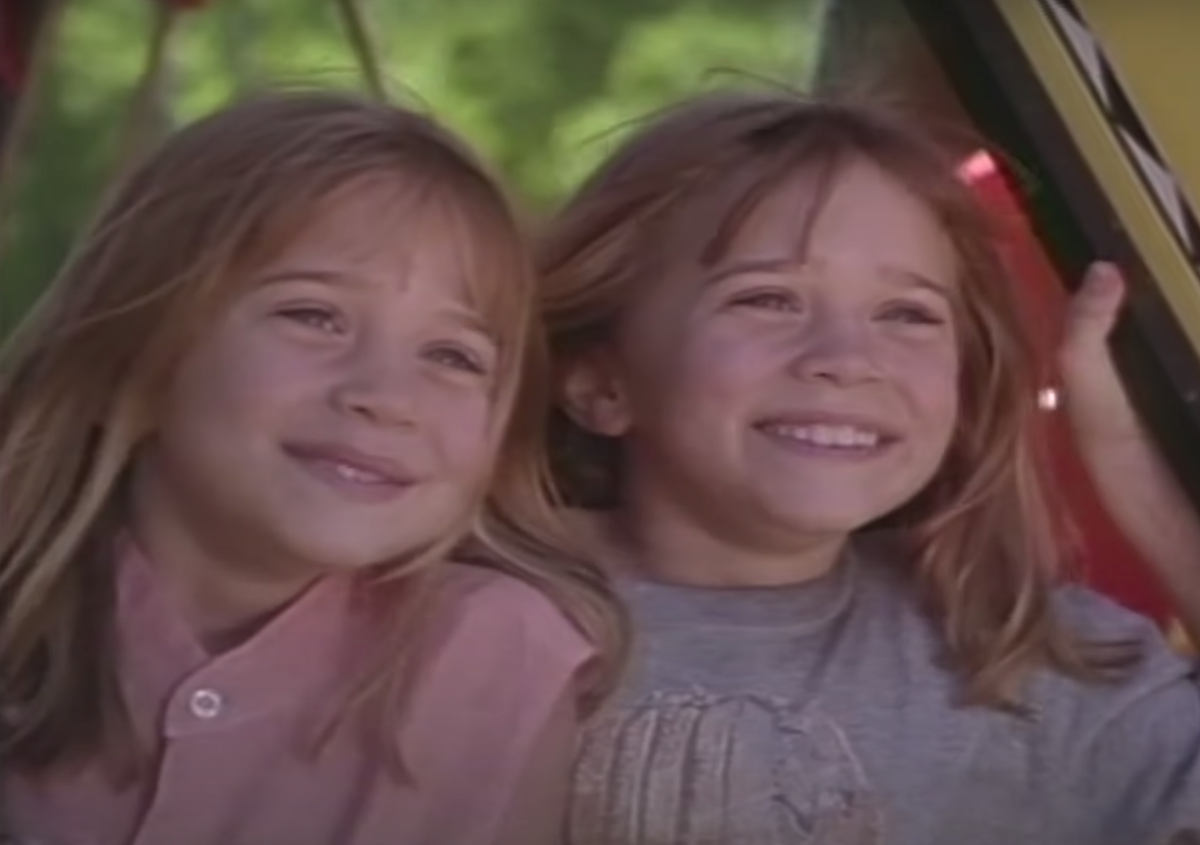 """Mary-Kate and Ashley Olsen in """"It Takes Two"""""""