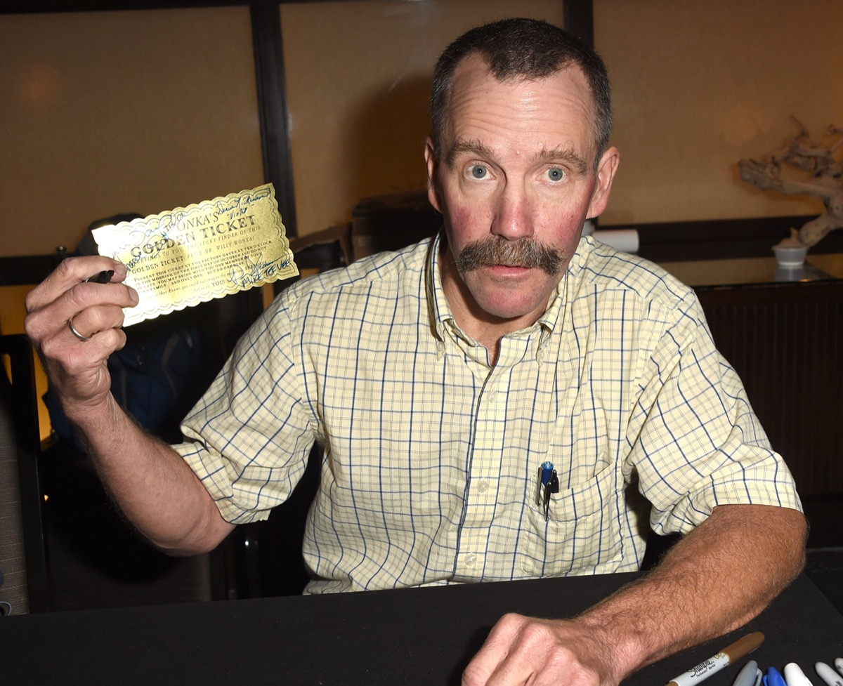 Peter Ostrum Poses at The Hollywood Show