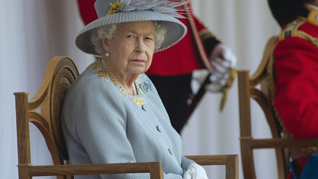 The Queen will view a military parade in the Quadrangle of Windsor Castle to mark Her Majesty's Official Birthday, on Saturday 12th June.