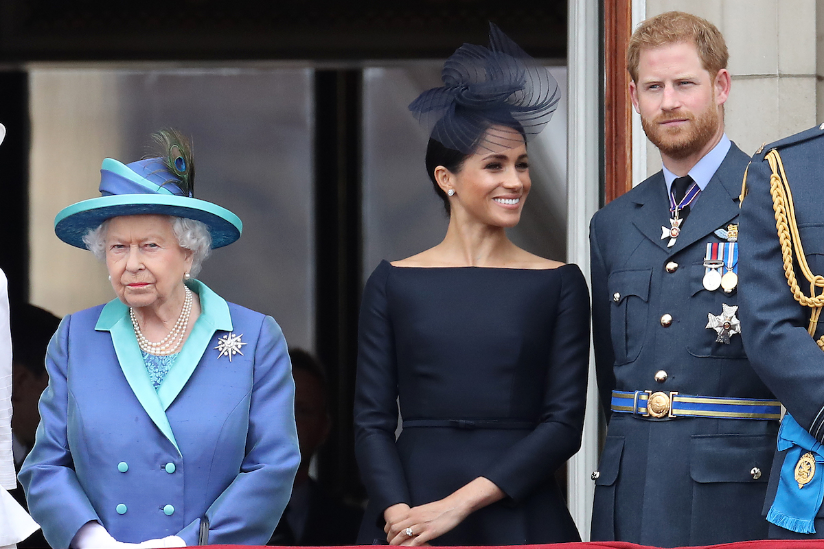 Members Of The Royal Family Attend Events To Mark The Centenary Of The RAF on July 10, 2018 in London, England.