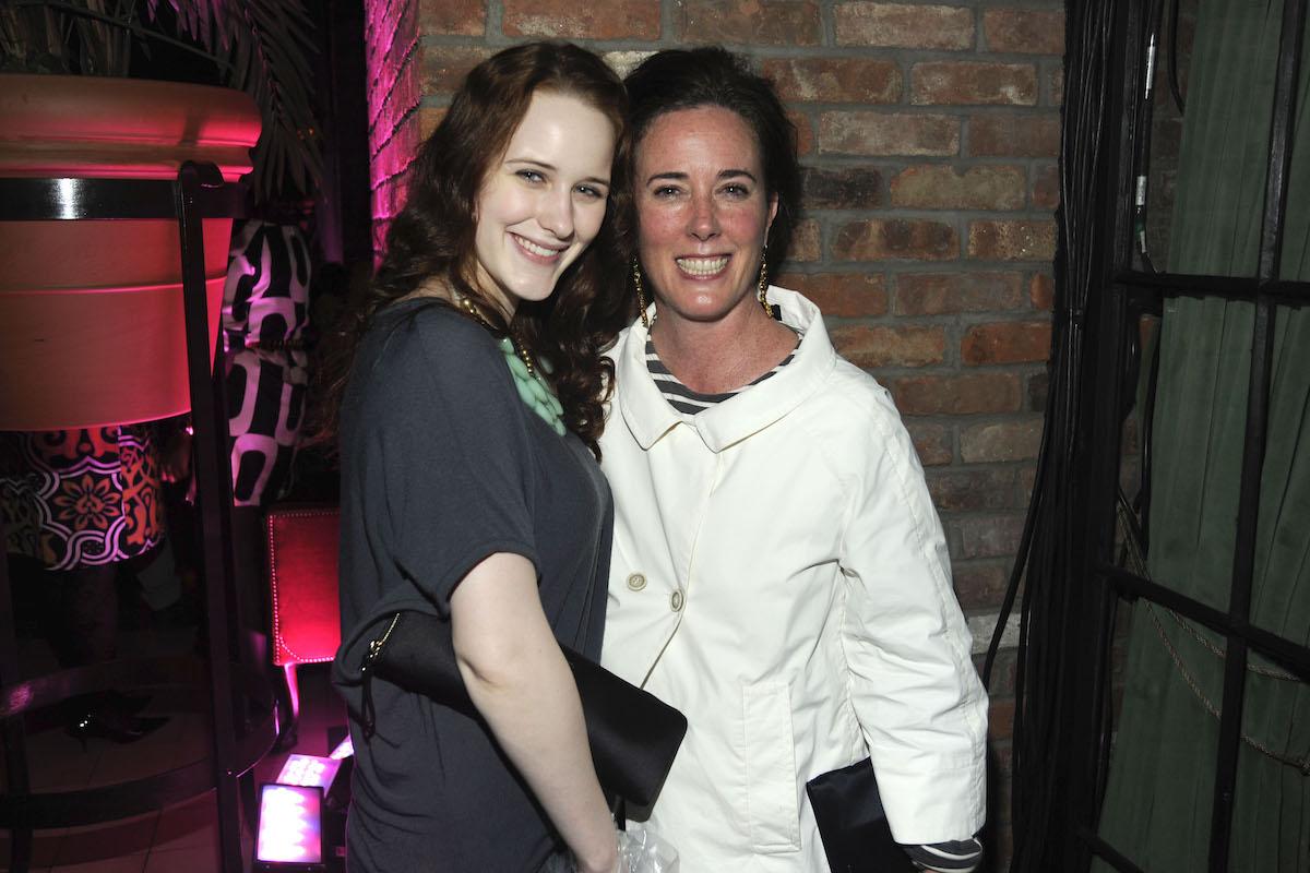 Rachel Brosnahan, Kate Spade in 2010