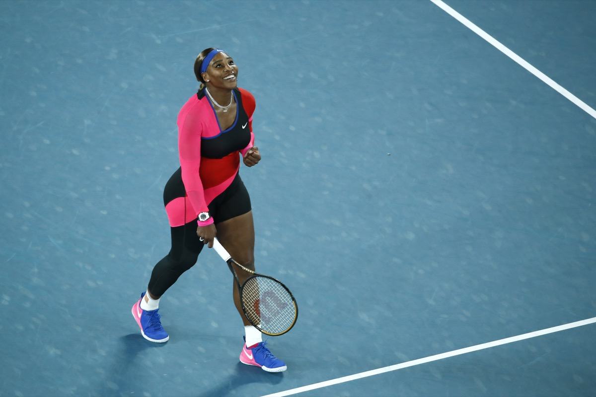 Serena Williams at the 2021 Australian Open