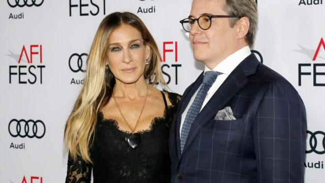 Sarah Jessica Parker and Matthew Broderick at the AFI FEST 2016 Opening Night Premiere of 'Rules Don't Apply' held at the TCL Chinese Theatre in Hollywood, USA on November 10, 2016.
